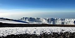 ice in Africa (Simple_Sight) Tags: africa mountain kilimanjaro glacier berge summit gletscher gipfel