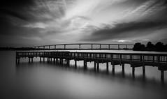 A Return to a Familiar Place (K.R. Watson Photography) Tags: solomons island pier bridge thomasjohnsonmemorialbridge longexposure river patuxentriver chesapeakbay
