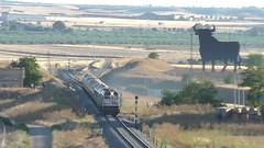 Renfe Viajeros - 319.323 + 319.319 con tren Al Andalus en la linea Madrid Extremadura (CARLOS123456) Tags: madrid en tren la al con linea renfe extremadura viajeros andalus 319319 319323