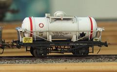 2mm FS, Scratchbuilt Chlorine Tank (Nik Morris (van Leiden)) Tags: model br railway tankers tutbury hayle 2mm finescale 2mmfs
