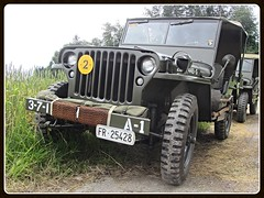 Willys MB, 1942 (v8dub) Tags: willys mb 1942 schweiz suisse switzerland fribourg freiburg 4x4 gelndewagen army arme military militaire militr american pkw voiture car wagen worldcars auto automobile automotive old oldtimer oldcar klassik classic collector
