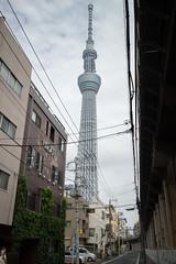 Tokyo Skytree (emilwestin) Tags: tokyo skytree canon eos m 22mm japan street