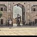 Jaipur IND - Amber Fort Sun Gate