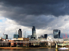 #64 Under the Weather (padswift) Tags: building london buildings bridges thamesriver lloydsbuilding londonskyline londonarchitecture