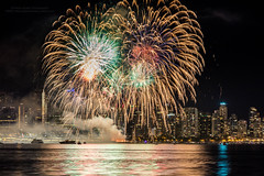 Fireworks for Canada Day in Vancouver (PIERRE LECLERC PHOTO) Tags: birthday light party summer urban holiday canada reflection water night vancouver landscape fun evening bc fireworks britishcolumbia canadian celebration canadaday pierreleclercphotography canon5dsr