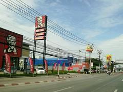 Thailand Fastfood KFC Road Samut Prakan The OO Mission (markusg2010) Tags: road thailand fastfood kfc samutprakan theoomission