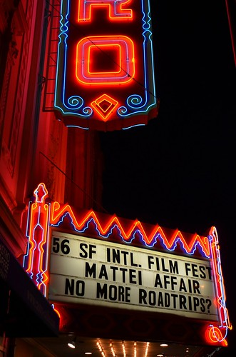 No More Road Trips SFIFF 56 screening at Castro Theater