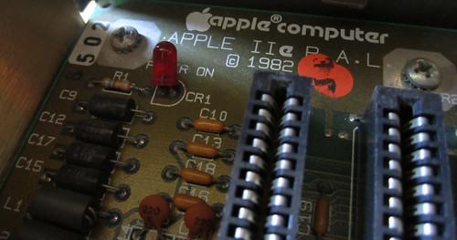 Apple 2e - Mainboard