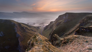 Winnats Pass Before Dawn