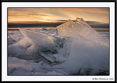 Brighton Beach Ice (Ben Podolak) Tags: ice mn duluth lakesuperior