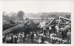 Avoca, Iowa, Rock Island Railroad, Train Wreck (photolibrarian) Tags: trainwreck rockislandrailroad avocaiowa