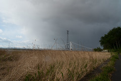 Severn Bridge (willumhg) Tags: uk bridge sea england wales river sony tide estuary severn a200