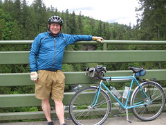 Green River Bridge (papahazama) Tags: bikes bicycles bleriot rivendell cascadebicycleclub changeyourliferideabike