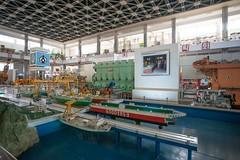 Three Revolution Exhibition - Heavy Industry Hall  -  North Korea DPRK Pyongyang (steve_uritours) Tags: northkorea pyongyang dprk threerevolutionexhibition uritours heavyindustryhall
