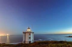 Amanece (Eduardo Regueiro) Tags: sea summer lighthouse beach sunrise faro coruña cloudy amanecer verano mera atlantico torredehercules nikond600