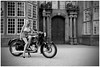 Biker. (Yvette-) Tags: astleyhall nikond5100