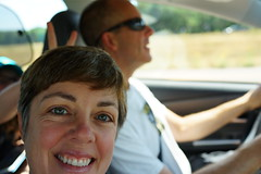 on the way to a hike (fotovivo / peevish me) Tags: selfportrait availablelight inthecar rabbitears aphotoaday sonyrx1