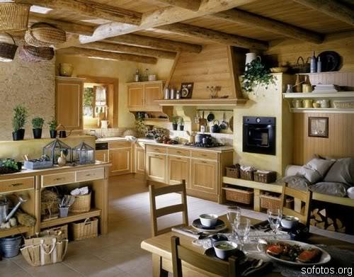 Cozinhas planejadas e decoradas de madeira