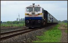 Et 40061 with 12322 Mumbai-HWH mail (Nikhilrailfan) Tags: mail mumbai 4b howrah wdp itarsi 40061