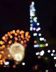 Bastille Day 2013 bokeh (ChocolateLlama) Tags: show paris france tower de lights day tour fireworks bokeh eiffel independence bastille 2013