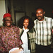 Chief Stephen Osita Osadebe (RIP) from Nigeria Hosted by  Equator Club Philadelphia Fouzia from Somalia 1997 303
