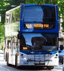 Community Transit 2010 Alexander Dennis Enviro 500 10817 (zargoman) Tags: travel bus ct double deck transportation transit tall decker snohomish e500 communitytransit lowfloor enviro500 alexanderdennis