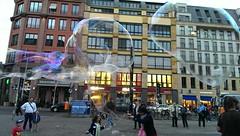 Hackescher Markt Seifenblasenkunst