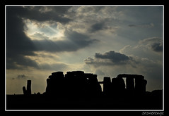 Stonehenge (theimagebusiness) Tags: uk travel vacation england sky cloud holiday heritage tourism beauty silhouette outdoors countryside ancient outdoor photographers historic devon stonehenge destination ritual rays interest countryways worldsites theimagebusiness theimagebusinesscouk