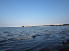 The pier and the Baltic