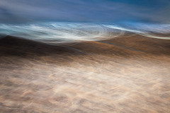 Cove 4 (Sea drift) (kevinmarston.com) Tags: camera blue sea blur coast movement long exposure cornwall cove icm intentional intentionalcameramovement connected2014