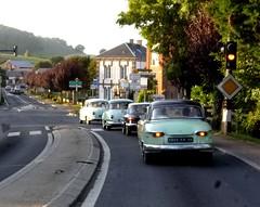 Panhard sur la route (gueguette80 ... Définitivement non voyant) Tags: old france cars junior autos septembre panhard dyna anciennes 2013 pl17 pl24