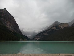 Lake Louise (Ultrachool) Tags: canada mountains water clouds lakes alberta lakelouise