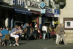 Sweet Brussels (Natali Antonovich) Tags: street brussels cafe couple pair terras sweetbrussels