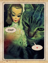 <3 (LAT_te) Tags: cat vintage 60s doll barbie hong kong 50s bild clone lilli originalfilter uploaded:by=flickrmobile flickriosapp:filter=original