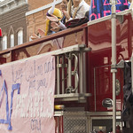 """<b>Homecoming Parade</b><br/> Photo By: Hanna Jensen<a href=""""http://farm8.static.flickr.com/7440/10141223785_08d65fe2a7_o.jpg"""" title=""""High res"""">∝</a>"""