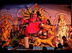 Durga Puja (Moshiur Rahman Mehedi ☼) Tags: festival hindu puja durga mondop sonaton