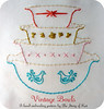 Vintage Bowls Hand Embroidery Pattern (thestoryofkat) Tags: vintagebowls handembroidery pdfpattern thestoryofkat