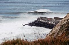 Offshore? (ekaintc) Tags: ocean sea nature wind offshore surfing xxl bizkaia euskalherria euskadi bigwave pointbreak olatu puntagalea