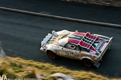 Lancia Stratos on the Orme (Will Aron) Tags: mountains amigos cars car wales club forest drive championship italian mud rally north racing dirt wrc welsh gravel lancia motorsport stratos rallying cambrian