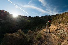 Day 1: Start from Calinzana (Damien [Phototrend.fr]) Tags: mountain france trekking trek hiking corse gr20 corsica september randonne calenzana granderandonne 2013 calinzana vision:mountain=0932 vision:outdoor=099 vision:sky=0914 vision:clouds=0786