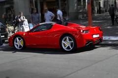 Ferrari 458 Italia Spyder (RW Creative Studio) Tags: red berlin germany italia ferrari spyder spotted supercar fastcar carspotting 458 italiancar