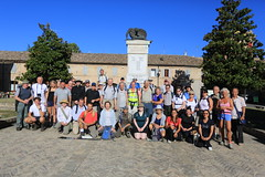 Group shot Servigliano DAY ONE WALK