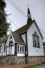 The Anglican Parish of St. Peter and St. Paul - Victoria, Vancouver Island, BC, Canada (Toad Hollow Photography) Tags: canada heritage history classic church beautiful architecture landscape bc character fineart stpaul peaceful victoria historic spire vancouverisland hdr anglican garrison stpeter pipeorgan esquimalt