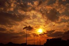 Skyline (windman007) Tags: city sunset skyline mecca makkah flickrandroidapp:filter=none