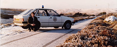 Northern Constabulary Ford Escort Mk3 Benbecula