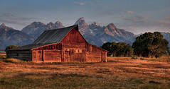 Barn for the Ages (Jeff Clow) Tags: grandtetonnationalpark mormonrow theoldwest jacksonholewyoming jeffrclow thomasmoultonbarn jeffclowphototours