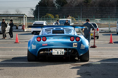 SK☆Exige warming up (Grif Batenhorst) Tags: cars japan time lotus elise attack battle racing modified tuner tuning circuit grassroots tsukuba exige tc2000 evome gh1117