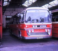 YRR512H (21c101) Tags: nottingham 1969 barton 1972 rebuilt 1134 plaxton bts2 panoramaelite yrr512h