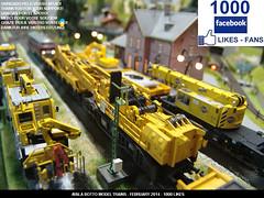 Ayala Botto Model Trains, Modelismo Ferroviario, Modelisme Ferroviaire, Trains Miniature, Modelleisenbahn, Modellbahn, Modelli Ferroviari, H0, 1/87, DB, DB Bahnbau, Gottwald, Goliath, railway, crane, kraan, marklin, krupps, 49950, 49952, gottwald (AyalaBotto Model Trains) Tags: scale tren trenes spur crane trix trains db scala goliath 187 grua gauge kran grue 16100 modelleisenbahn gru echelle modeltrains kraan binari modelrailway treni spoorweg marklin escala robel krupps modellbahn 16000 kibri viessmann gottwald h0 ferromodelismo 3375 16060 16082 23951 37740 gs100 49952 49950 plassertheurer modelismoferroviario br216 eisenbanh modelismeferroviaire railwaycrane dbbahnbau mtw100 modelliferroviari ayalabotto usp2000sws bamowag trainsminiature