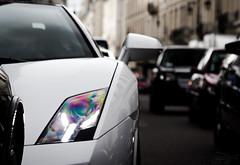 Eye. (Vmgt2 Automotive Photography) Tags: white black paris france canon eos lamborghini gallardo 2014 bicolore 60d detailshots lp5604 vmgt2